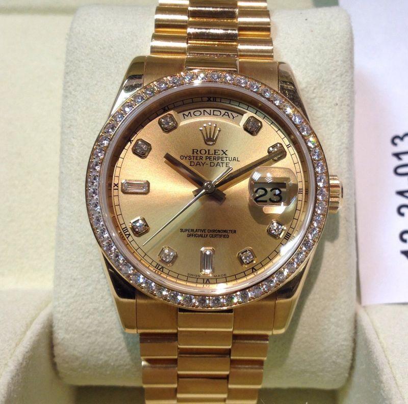 Sold Rolex 118348