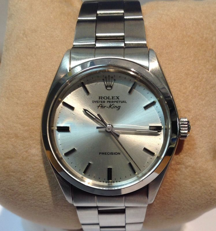 1977 Rolex Air King Model 5500 X17567 Second Hand